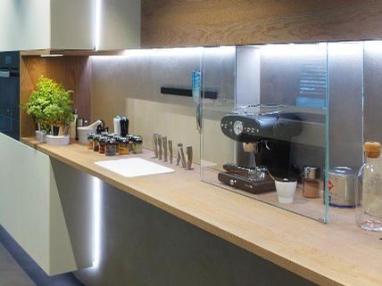 LED-Licht in der Küche